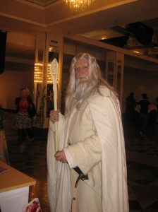 Der Gandalf mit den schönsten Brauen der RingCon.